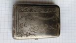 Таблетница табакерка серебро 84пр. именник АК, фото №6
