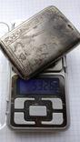 Таблетница табакерка серебро 84пр. именник АК, фото №12