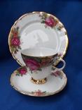 Чайная тройка Фарфор Bavaria  Клеймо, фото №3