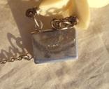 Гарнитур слоновая кость, серебро, 1940-е - 50-е г., фото №11