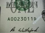 1000000 $ миллион долларов США USA банкнота купюра мільйон доларів фото 3