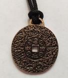 100 шт. Money amulet. Корейская монета счастья. Денежная монета.  Амулет., фото №3
