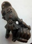Пепельница Гном без шляпы, фото №2