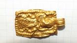 Золотая привеска ЧК с антропоморфным изображением, фото №8