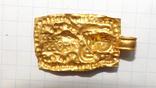 Золотая привеска ЧК с антропоморфным изображением, фото №9