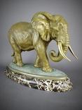 Слон большой Бронза, фото №3