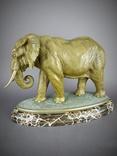 Слон большой Бронза, фото №4