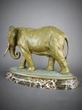 Слон большой Бронза, фото №5