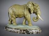 Слон большой Бронза, фото №2