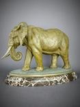 Слон большой Бронза, фото №8