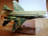 Модель реактивного самолёта. Кабинетная модель. СССР., фото №2