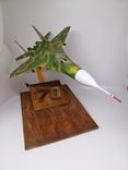 Модель реактивного самолёта. Кабинетная модель. СССР., фото №8