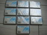 Кассеты запечатанные Manatex 10 шт, фото №2