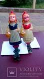 Елочная игрушка Девочка с корзинкой, Красная шапочка, фото №2