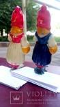 Елочная игрушка Девочка с корзинкой, Красная шапочка, фото №4