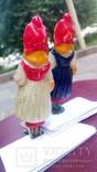 Елочная игрушка Девочка с корзинкой, Красная шапочка, фото №5