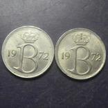 25 сантимів Бельгія 1972 (два різновиди), фото №3