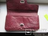 Женская сумочка кожаная 1958г., фото №4