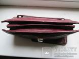 Женская сумочка кожаная 1958г., фото №7