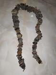 Янтарь бусы 130 грамм, фото №4