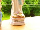 """Статуэтка """"Дева Мария"""" Италия - фарфор - Lady of Lourdes - 30 см фото 3"""