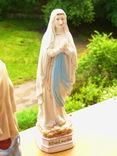 """Статуэтка """"Дева Мария"""" Италия - фарфор - Lady of Lourdes - 30 см фото 4"""