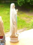 """Статуэтка """"Дева Мария"""" Италия - фарфор - Lady of Lourdes - 30 см фото 5"""