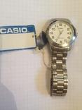 Лот 0051 Новые часы унисекс Casio (оригинал) MTP-1215A-7B2DF, фото №2