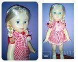 Ранняя паричковая кукла Симферополь  СССР, фото №2