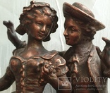 Скульптура «Влюблённая парочка», фото №9