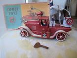Пожарная машина Заводная игрушка ., фото №2