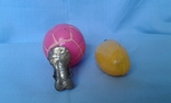 Игрушки елочные Мяч и огурец 2 шт одним лотом, фото №6