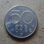 50 эре  1982  Норвегия  (К.29.3)~, фото №3