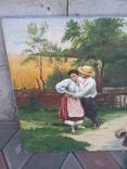 Копия картины. Свидание., фото №3