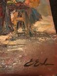 «Уличные торговки», Эрн Эрб, Сертификат, с аукциона, фото №4