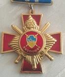 Две медали Комитета содействия правохранительным органам, Украина, фото №4