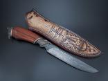 Нож, дамаск., фото №8