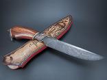 Нож, дамаск., фото №10