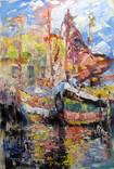 ,,Дыхание моря,, 40 x 60 см.холст.масло.акрил. А.Горб, фото №2