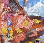 ,,Дыхание моря,, 40 x 60 см.холст.масло.акрил. А.Горб, фото №5
