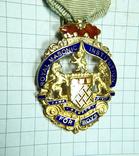 Масонский знак STEWARD. Серебро. RMIВ 1921 г., фото №4