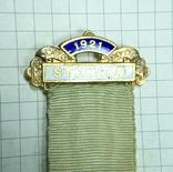 Масонский знак STEWARD. Серебро. RMIВ 1921 г., фото №5