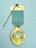 Масонский знак STEWARD. Серебро. RMIВ 1921 г., фото №6