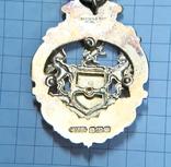 Масонский знак STEWARD. Серебро. RMIВ 1921 г., фото №7