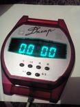 Часы Електроника Днепр з будильником. Производство ссср., фото №8