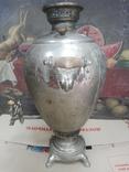 Самовар Яйцо 6,5 л Братья Шемарины никель, фото №3