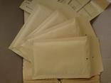 Бандерольный конверт А11 100х160, 50 шт, Польша, желтые, фото №4