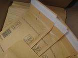 Бандерольный конверт А11 100х160, 50 шт, Польша, желтые, фото №5