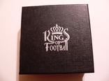 Короли футбола - Збигнев Бонек - серебро - футляр, сертификат, коробка, фото №5