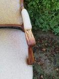 Крісло з красивою різьбою, Європа, фото №3